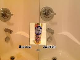 this is my shower i tried everything that claimed to take how to remove hard water stains