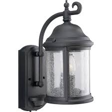 progress lighting p5854 31 motion sensor energy efficient outdoor wall mount lantern
