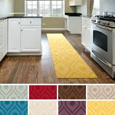 striped kitchen rug blue and white runner black rugs