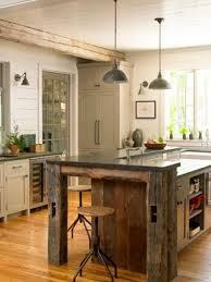 Cottage Kitchen Furniture Gray Barn Wood Kitchen Island With Farm Sink Cottage Kitchen