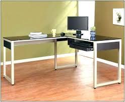 home office l desk. Wood L Desks Office Desk Black Glass Corner Computer Oak Shaped O Furniture Wooden With Hutch For Sale Executive Home