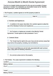 Rental Agreement Template Free Download Simple Residential Lease ...