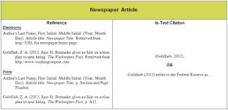 news article format awesome collection of apa format reference online newspaper article