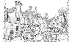Mooie Prijsjes Bij Kleurplaatactie Sinterklaas Nieuwsblad De