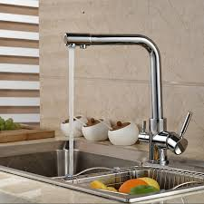 low cost kitchen faucets awesome luxury chrome brass pure water kitchen faucet dual handle hot and