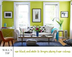 decorate with lime green