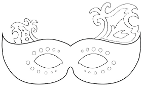 Mask Templates For Adults Mesmerizing Venetian Lace Mask Template Masks Example Resume Getpicksco