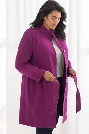 plus size jackets and plus size coats