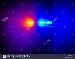 Why Are Police Lights Red And Blue Red And Blue Flashing Police Car Lights Atop A Patrol Car At
