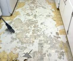 removing tile floor adhesive how