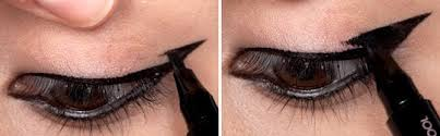 how to create the perfect winged eyeliner look