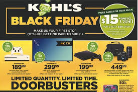 kohl s black friday 2017 adkohl s via bestblackfriday