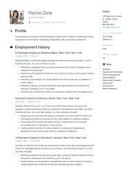 Formal Resume Sample Resume Resume For A Business Analyst