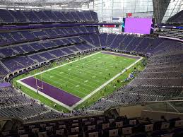 Us Bank Stadium View From Section 320 Vivid Seats