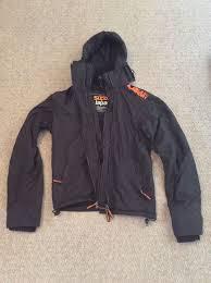 superdry windcheater windcheater jacket small mens black superdry jackets superdry windcheater l