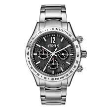 mens watch versus versace city cosmopolitan chrono steel bracelet mens watch versus versace city cosmopolitan chrono steel