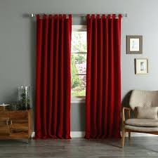 bright red sheer curtain panels impressive decorating ideas images in tremendous