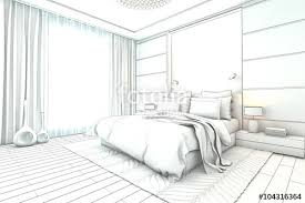 interior design bedroom sketches. Architectural Sketch Interior Modern Bedroom Design Sketches S