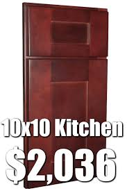 Rta Shaker Kitchen Cabinets Rta Cognac Shaker 10x10 Kitchen Cabinets For 203657 Buy Rta