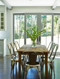 dining room arrangements. metal-dining-chairs-dining-room-farmhouse-with-ceiling-beams-floral- arrangements   beeyoutifullife.com dining room c