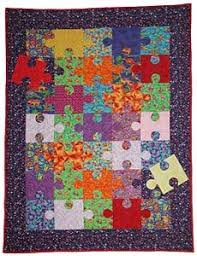 Make a Colorful Jigsaw Puzzle Quilt with This Free and Easy ... & Make a Colorful Jigsaw Puzzle Quilt with This Free and Easy Pattern:  Fill-in the Gaps of Your Jigsaw Puzzle Quilt | quilting | Pinterest |  Puzzle quilt, ... Adamdwight.com