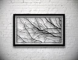 neat design branch wall decor ideas tree art the classic gallery framed diy birch