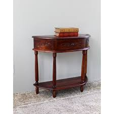 Hallway Console Cabinet Half Circle Console Sofa Tables Youll Love Wayfair