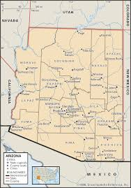 Tucson Elevation Chart Arizona Geography Facts Map History Britannica