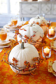 Check Out 33 Pumpkin Centerpieces For Fall With Halloween Table. Pumpkin is  a perfect thing to decorate your fall table  no matter if it's a usual  dinner, ...