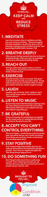 the best reduce stress ideas ways to reduce  10 stress relief tips for caregivers infographic