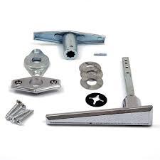 garage door lock handle. Garage Door Lock L - Handle Assembly (No Keys)