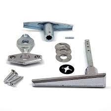 garage door lock l handle assembly no keys