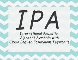 Ipa Chart For Singers Ipa Vowel Posters Choral Singing School Ipa Singing