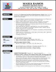 Teaching Resume Examples Teacher Resume Examples Teacher Resume