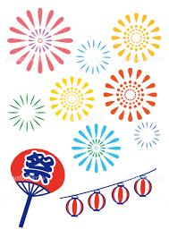 打ち上げ花火 夏祭り イラスト素材 5098818 フォトライブラリー
