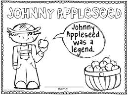 Small Picture Johnny Appleseed Coloring Page Good Coloring Johnny Appleseed