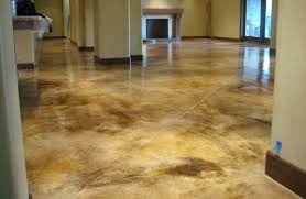 staining concrete floors indoors floor ideas diy