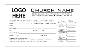 Welcome Card Templates Church Welcome Card Template