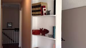 how i made my bookcase door