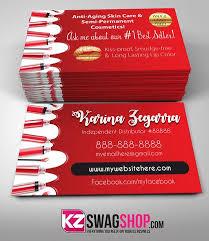 Senegence Business Cards Style 6 Kz Swag Shop