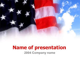 American Flag Powerpoint American Flag Presentation Template For Powerpoint And