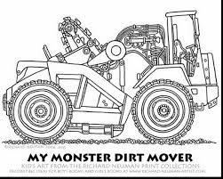 Small Picture superb grave digger monster truck coloring pages with dump truck