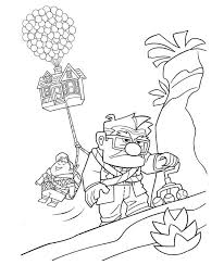Up house coloring pagehalloween pictures color haunted house with page brilliant disney, source : Up Coloring Pages Coloring Home