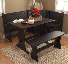 black kitchen nook introducing black breakfast nook round kitchen table and chairs black kitchen nook