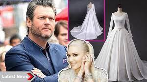 Gwen Stefani's handmade wedding dress ...