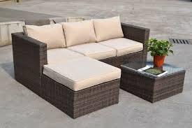 corner seating furniture. best outdoor furniture corner seating seasons costa rica rattan sofa in brown