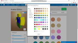 How To Create An Outfit On Roblox How To Make A Noob Skin In Roblox