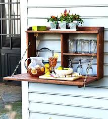 diy wall mounted mini bar best inspirations images on home ideas outdoor bars fun