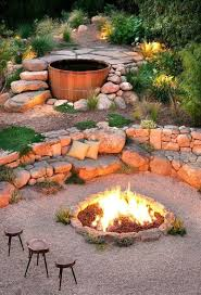 5 Swing Fire Pit Best Outdoor Fire Pit Seating Ideas Designrulz
