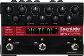 Pitch Factor Chart Pitchfactor Eventide Pitch Shift Delay Harmonizer